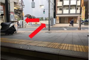 ジュンコ先生の教室神楽坂への道順1