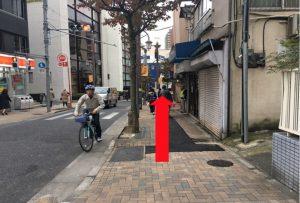 ジュンコ先生の教室神楽坂への道順2