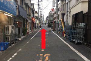 ジュンコ先生の教室神楽坂への道順4